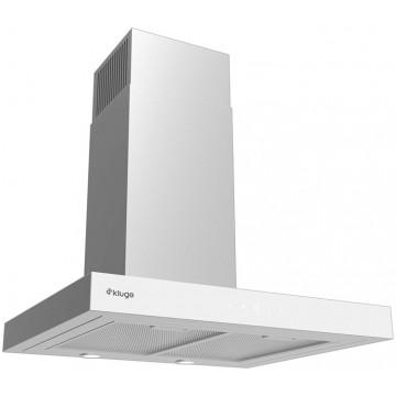 Vestavné spotřebiče - Kluge KOK6010WHG T-line white 60 odsavač komínový, 60 cm, 4 roky bezplatný servis