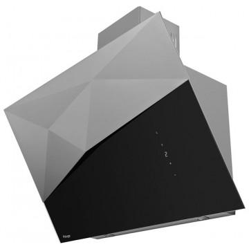 Vestavné spotřebiče - Kluge KOS9070BLG Edge black odsavač komínový, 90 cm, 4 roky bezplatný servis