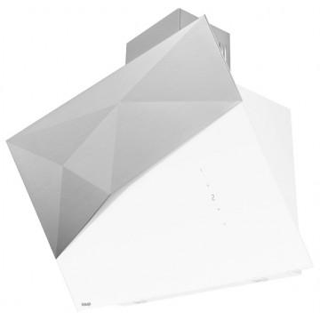 Vestavné spotřebiče - Kluge KOS9070WHG Edge white odsavač komínový, 90 cm, 4 roky bezplatný servis