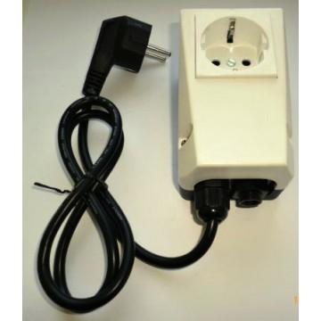 Příslušenství ke spotřebičům - EcoMaster Krabice pneuspínače komplet vč. flexokabelu k drtičům odpadu EcoMaster