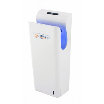 Vysoušeče rukou Jet Dryer - Jet Dryer Vysoušeč rukou STYLE, Stříbrný ABS plast