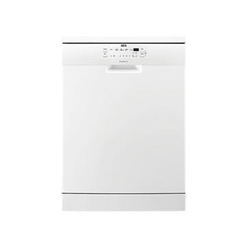Volně stojící spotřebiče - AEG FFB53610ZW volně stojící myčka nádobí