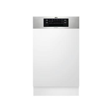 Vestavné spotřebiče - AEG Mastery FEE63400PM vestavná myčka nádobí s panelem, 45 cm, A+++