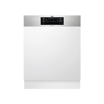 Vestavné spotřebiče - AEG Mastery FEE62800PM vestavná myčka nádobí s panelem, příborová zásuvka, ComfortLift, 60 cm, A++