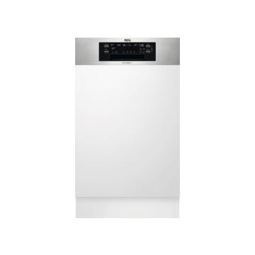 Vestavné spotřebiče - AEG Mastery FEE62400PM vestavná myčka nádobí s panelem, 45 cm, A++