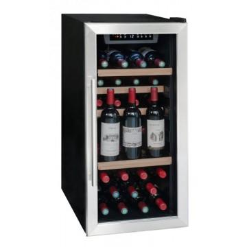 Volně stojící spotřebiče - La Someliere LS38A volněstojící vinotéka jednozónová, 35 lahví, černá/nerez
