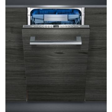 Vestavné spotřebiče - Siemens SR656X01TE vestavná myčka nádobí, Zeolith, speedMatic, 45 cm, A+++