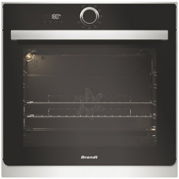 Vestavné spotřebiče - Brandt BXP6534X Multifunkční pyrolytická trouba, objem 73 l, černá/nerez, 4 roky záruka