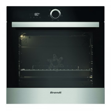 Vestavné spotřebiče - Brandt BXE5532X Multifunkční horkovzdušná trouba , objem 73 l, černá/nerez, 4 roky záruka