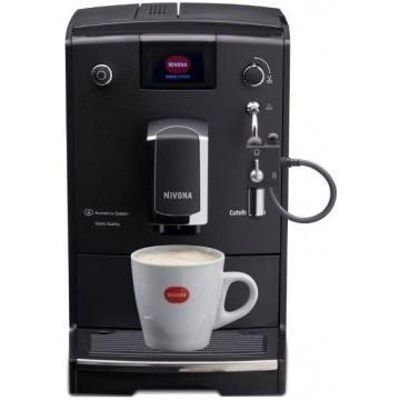 Automatické kávovary - Nivona NICR 660 CafeRomatica, automatický volně stojící kávovar, černý