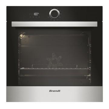 Vestavné spotřebiče - Brandt BXP5531X Multifunkční pyrolytická trouba, objem 68 l, černá/nerez, 4 roky záruka
