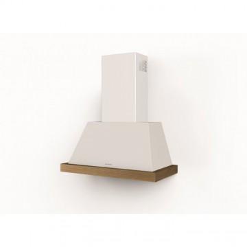 Vestavné spotřebiče - Faber THEA EV8 WH MATT A80 bez rámu  - rustikální komínový odsavač, bílá mat, šířka 80cm
