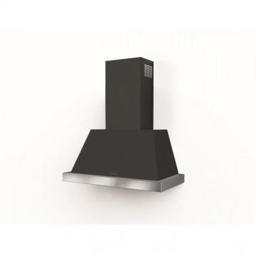 Vestavné spotřebiče - Faber THEA EV8 DG MATT A80 bez rámu  - rustikální komínový odsavač, tmavě šedá mat, šířka 80cm