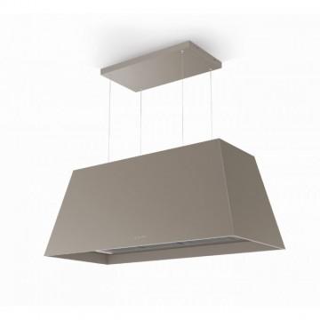 Vestavné spotřebiče - Faber CHLOE XL ISOLA CG MATT F110  - rustikální ostrůvkový odsavač, cementově šedá mat, šířka 110cm