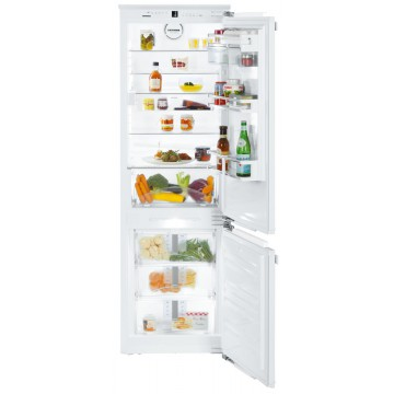 Vestavné spotřebiče - Liebherr ICNP 3366 Kombinovaná lednička s mrazákem dole, NoFrost, BioCool, DuoCooling, Soft System, A+++