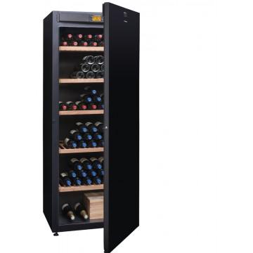 Volně stojící spotřebiče - Avintage DVA305PA+  multi-teplotní jednozónová vinotéka, 294 lahví, A+, černá