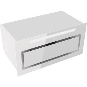 Vestavné spotřebiče - Kluge KMV6020WHG vestavný odsavač par, bílé sklo, šířka  60 cm, 4 roky bezplatný servis