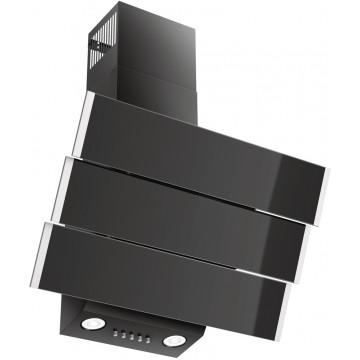 Vestavné spotřebiče - Kluge KMS6010BLG dekorativní komínový odsavač, 60 cm
