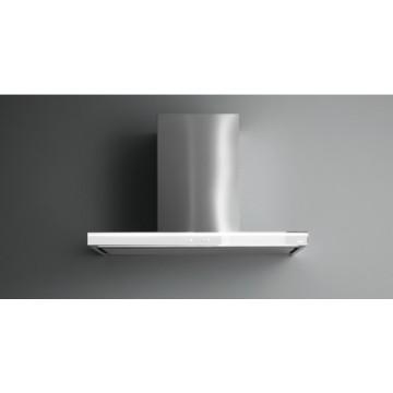 Vestavné spotřebiče - Falmec LUMINA NRS Wall - nástěnný odsavač, 90 cm, bílá/nerez, 800 m3/h