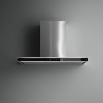Vestavné spotřebiče - Falmec LUMINA NRS Wall - nástěnný odsavač, 120 cm, černá/nerez, 800 m3/h