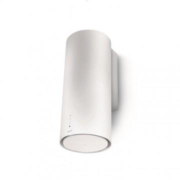 Vestavné spotřebiče - Faber CYLINDRA GLOSS PLUS EV8 WH A37  - komínový odsavač, bílá, šířka 37cm