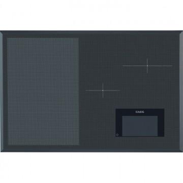 Vestavné spotřebiče - AEG Mastery HKH81700FB indukční varná deska, FreeZone, tmavě šedá, šířka 78 cm