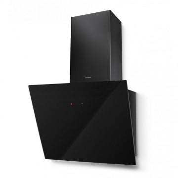 Vestavné spotřebiče - Faber TWEET EV8 BK A55  - komínový odsavač, černá / černé sklo, šířka 55cm