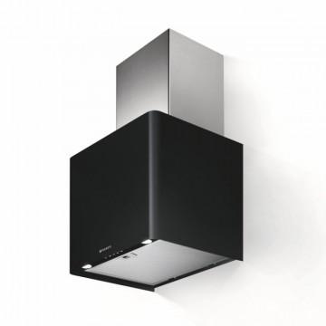 Vestavné spotřebiče - Faber LITHOS EG6 BK A45  - komínový odsavač, nerez / černá mat, šířka 45cm