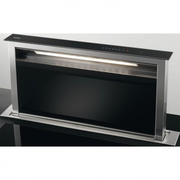 Vestavné spotřebiče - AEG Mastery DDE5980G odsavač výsuvný z pracovní desky, černý, 90 cm