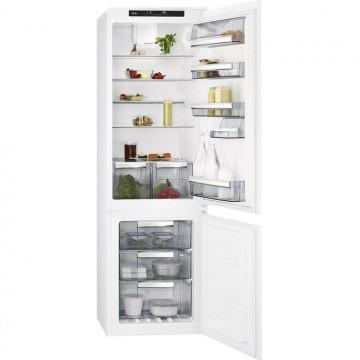 Vestavné spotřebiče - AEG Mastery SCE81816TS vestavná kombinovaná chladnička, NoFrost, A+