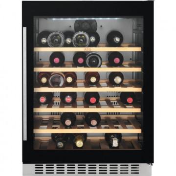 Vestavné spotřebiče - AEG Mastery SWB66001DG vestavná jednozónová vinotéka, 52 lahví Bordeaux, A