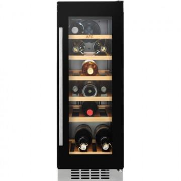 Vestavné spotřebiče - AEG Mastery SWB63001DG vestavná jednozónová vinotéka, 20 lahví Bordeaux, A