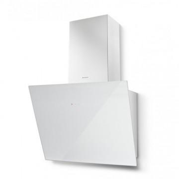 Vestavné spotřebiče - Faber TWEET EV8 WH A55  - komínový odsavač, bílá / bílé sklo, šířka 55cm