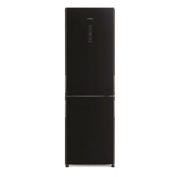 Volně stojící spotřebiče - Hitachi R-BG410PRU6X-GBK Kombinovaná chladnička, NoFrost, černá, 7 let záruka