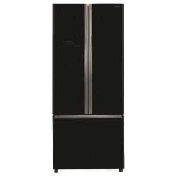 Volně stojící spotřebiče - Hitachi R-WB550PRU2-GBK Kombinovaná chladnička, NoFrost, černá, A+, 7 let záruka