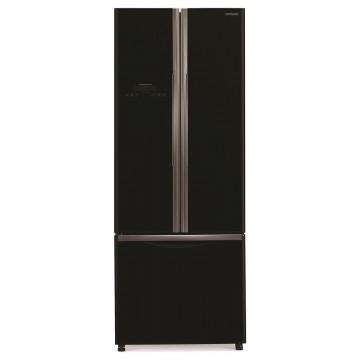 Volně stojící spotřebiče - Hitachi R-WB480PRU2-GBK Kombinovaná chladnička side-by-side, NoFrost, černá, A+, 7 let záruka