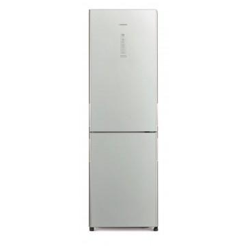 Volně stojící spotřebiče - Hitachi R-BG410PRU6X-GS kombinovaná chladnička, stříbrná, NoFrost, A++, 7 let záruka