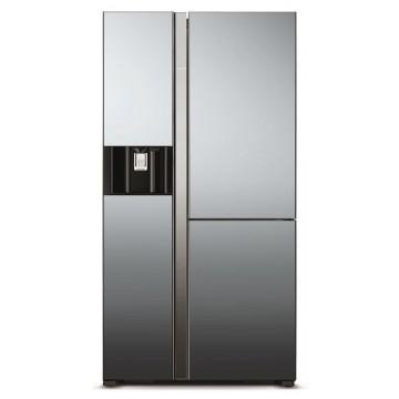 Volně stojící spotřebiče - Hitachi R-M700AGPRU4X-MIR kombinovaná třídveřová chladnička, NoFrost, A++, 7 let záruka