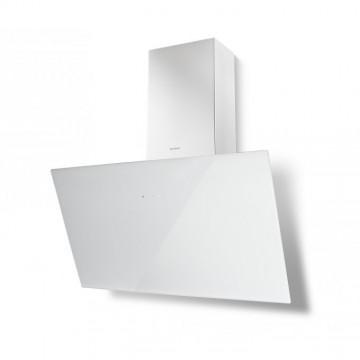 Vestavné spotřebiče - Faber TWEET EV8 WH A80  - komínový odsavač, bílá / bílé sklo, šířka 80cm