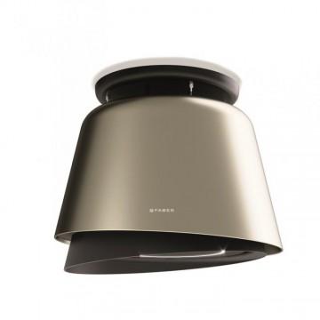 Vestavné spotřebiče - Faber BELLE PLUS GOLD/DG MATT KL  - lustrový odsavač, teplá titanová / tmavě šedá mat, šířka 70cm