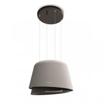 Vestavné spotřebiče - Faber BELLE GR/DG MATT  - lustrový odsavač, šedá mat / tmavě šedá mat, šířka 70cm