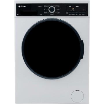 Volně stojící spotřebiče - Romo RWF1271L předem plněná pračka, bílá, 7 kg prádla, A+++