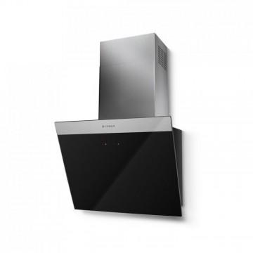 Vestavné spotřebiče - Faber DAISY_B EG6 BK A55  - komínový odsavač, nerez / černé sklo s nerez páskem, šířka 55cm
