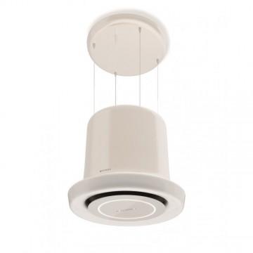Vestavné spotřebiče - Faber GLOW WH GLOSS KL  - lustrový odsavač, bílá, šířka 65cm