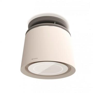 Vestavné spotřebiče - Faber CELINE PLUS WW/CG MATT KL  - lustrový odsavač, bílá mat / cementově šedá mat, šířka 60cm