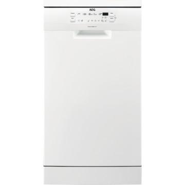 Volně stojící spotřebiče - AEG Mastery FFB51400ZW volně stojící myčka nádobí, bílá, 45 cm, A+