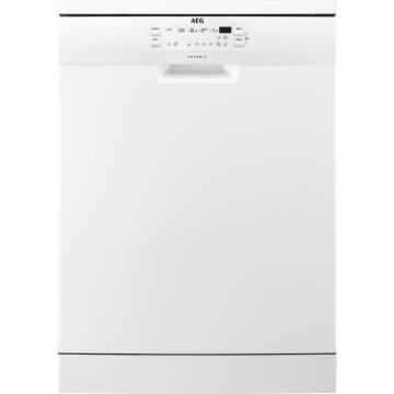 Volně stojící spotřebiče - AEG Mastery FFB53630ZW volně stojící myčka nádobí, bílá, 60 cm, A+++