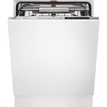 Vestavné spotřebiče - AEG Mastery FSE83716P vestavná myčka nádobí s příborovou zásuvkou, vnitřní osvětlení, 60 cm, A+++