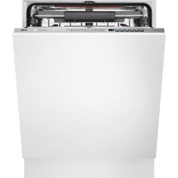 Vestavné spotřebiče - AEG Mastery FSE63716P vestavná myčka nádobí s příborovou zásuvkou, 60 cm, A+++