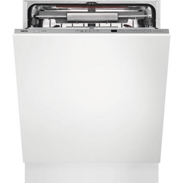 Vestavné spotřebiče - AEG Mastery FSE62800P vestavná myčka nádobí s příborovou zásuvkou, ComfortLift, 60 cm, A++